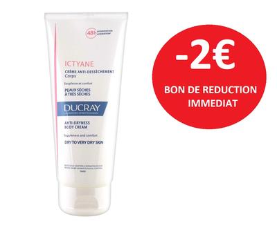 DUCRAY ICTYANE CREME CORPS 200ML -2€