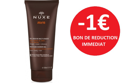 NUXE MEN GEL DOUCHE 200 ML