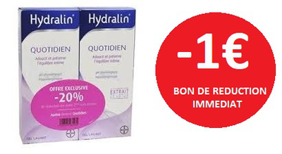HYDRALIN QUOTIDIEN 2X200 ML