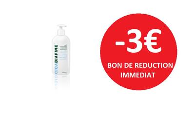 CICABIAFINE LAIT COPRS  400 ML -3€