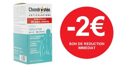 CHONDROSTEO ARTICULATION 120 COMPRIMES -2€