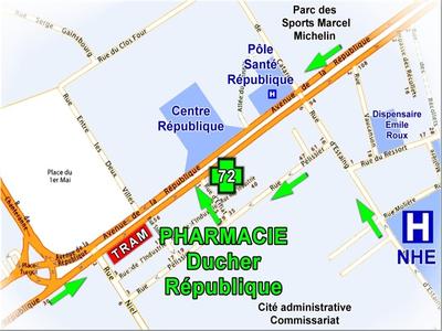 Pharmacieclermontferrand.fr - Vue générale