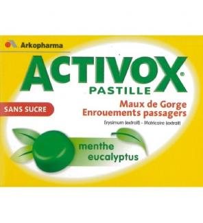ACTIVOX MENTHE/EUCALYP PAST S/S 24