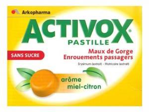 ACTIVOX MIEL CITRON PAST S/S 24