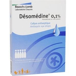 DESOMEDINE COL UNIDOSE 0,6ML 10