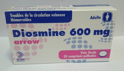 DIOSMINE 600MG ARROW CPR 30