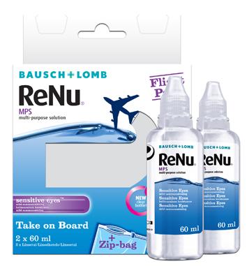 RENU SOL FLIGHT PACK 2X60ML