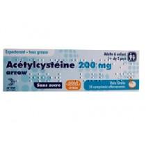 ACETYLCYSTEINE 200MG ARW CPR EFF20