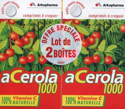 ACEROLA 1000 CPR CROQ 30 LOT2
