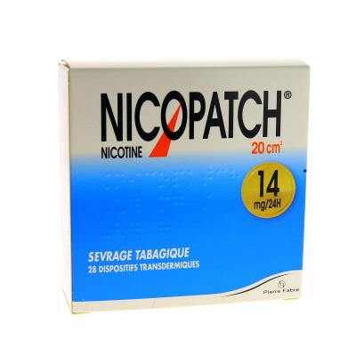 NICOPATCH 14MG/24H D/TRANSD 28