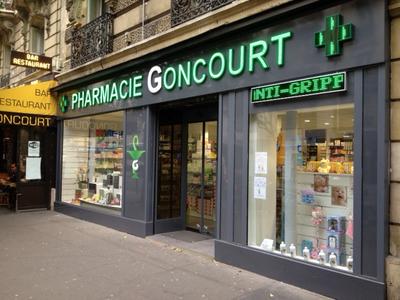Pharmacie Goncourt - Vue générale