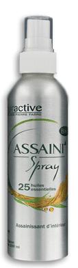 ASSAINI'SPRAY aux 25 huiles essentielles