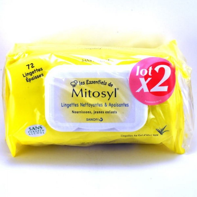 MITOSYL ESSENT LINGETTE RECH 72 X2