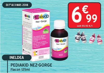 PEDIAKID NEZ-GORGE SP 125ML
