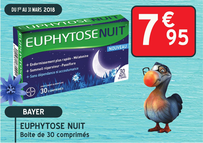 EUPHYTOSE NUIT CPR 30