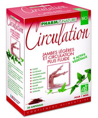 PHARM&NATURE AMPOULES BIO CIRCULATION 10 AMP