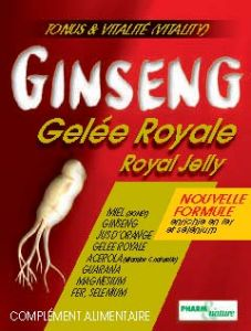 GINSENG GELEE ROYALE B/10 AMPOULES