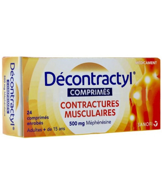 DECONTRACTYL 500MG 24 COMPRIMES