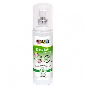 PEDIAKID Bouclier Insect - Sans insecticide - Dès 3mois Spray/100ML