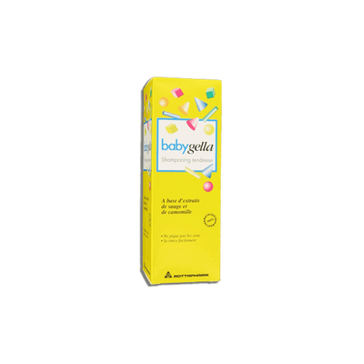 BABYGELLA Shampooing tendresse F/250ML