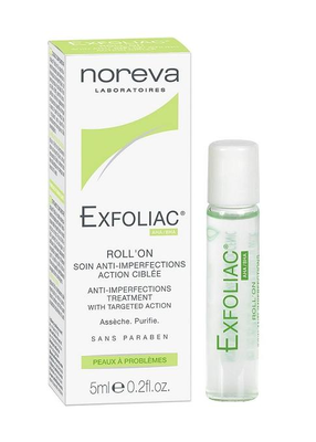 EXFOLIAC Roll'on soin anti-imperfections action ciblée 5ml