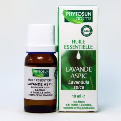 PHYTOSUN AROMS HUILE ESSENTIELLE LAVANDE ASPIC F/10ML