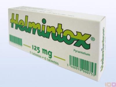 Helmintox 250mg boite de 3 comprimés