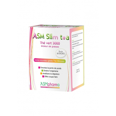 ASM Slim Tea boîte 20 sachets