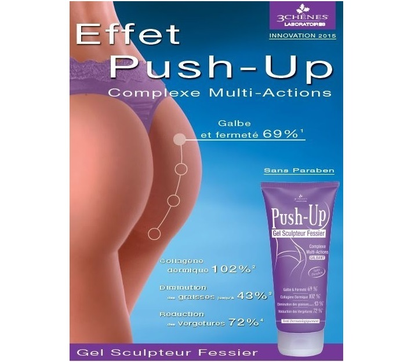 Push-up Gel sculpteur fessier