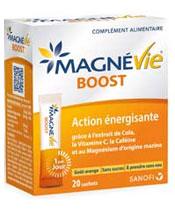 MAGNEVIE BOOST magnésium boîte 30 sachets