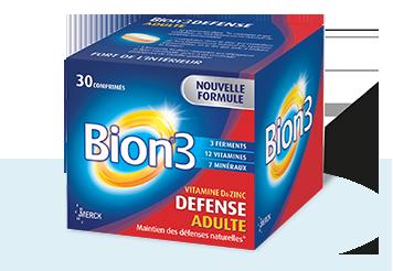 BION 3 Défense adultes boîte 30 comprimés