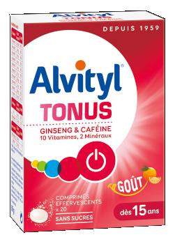 ALVITYL TONUS boîte 20 cpr effervescents