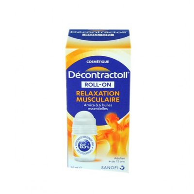 DECONTRACTOLL roll-on relaxation musculaire 50ml