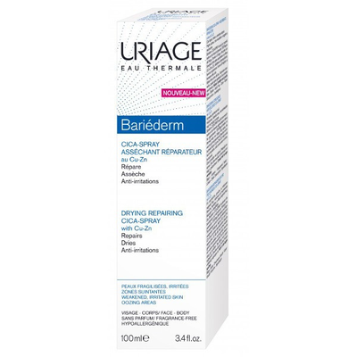 URIAGE BARIEDERM Cica-spray réparateur au Cu-Zn 100ML