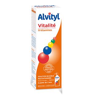 ALVITYL Vitalité solution buvable multivitaminée flacon 150ml