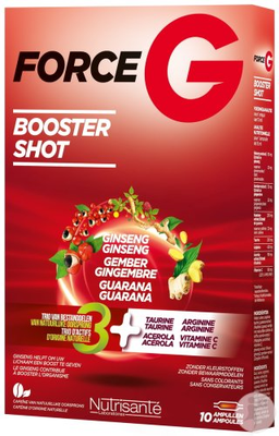 FORCE G Booster Shot boîte 20 ampoules