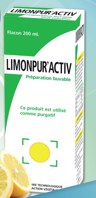 LIMONPUR A.C.T.I.V limonade purgative flacon 200ml