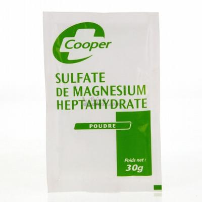 SULFATE DE MAGNESIUM Cooper poudre 30g