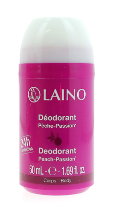 LAINO DEODORANT Pêche-Passion flacon 50ml