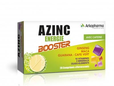 AZINC ENERGIE BOOSTER comprimés effervescents boîte 20