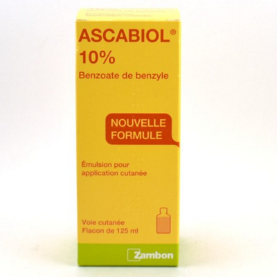 ASCABIOL 10% Emulsion pour application cutanée flacon 125ml