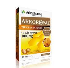 ARKOROYAL GELEE ROYALE 1000mg ARKOPHARMA boîte 30 capsules