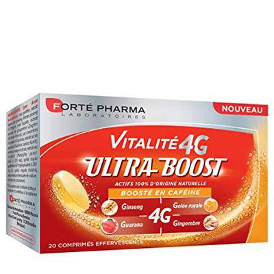 VITALITE 4G ULTRA BOOST 20 comprimés effervescents