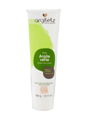 ARGILETZ Pâte d'Argile Verte tube 400g