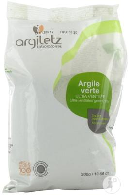 ARGILETZ Argile Verte Ultraventilée 300g
