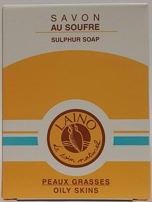 LAINO SAVON AU SOUFRE 150gr