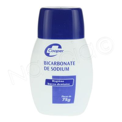BICARBONATE DE SODUIM COOPER 75G