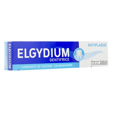 ELGYDIUM Dentifrice Anti-plaque dentaire tube 75ml