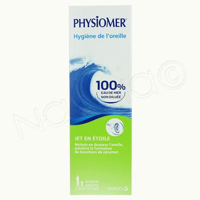 PHYSIOMER HYGIENE OREILLE FL115ML