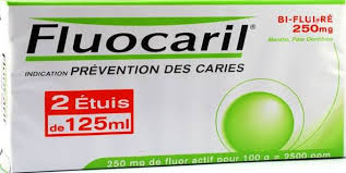 FLUOCARIL Prévention caries lot de 2 tubes de 125ml